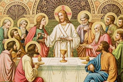 Последняя неделя перед Пасхой - самая строгая и посвящена воспоминаниям о страстях Христовых: в Великий четверг основная тема - Тайная вечеря, последняя трапеза Иисуса