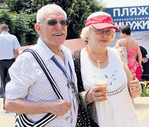 С женой Лилией МАЙОРОВОЙ Александр МИТТА прожил всю жизнь