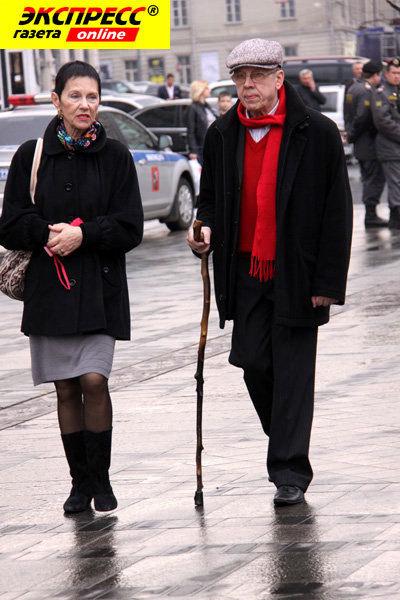 Валерий ЗОЛОТУХИН с женой Тамарой