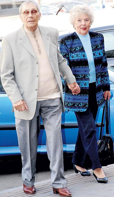 С Владимиром УШАКОВЫМ звезда прожила в браке больше 50 лет
