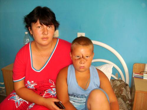 Кирилл БОЛОТОВ с мамой
