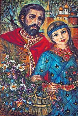 Петра и Февронию многие просят о благополучии и мире в семье