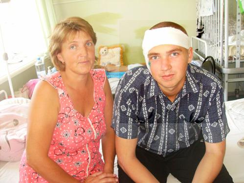 Иван ЛАКАТАШ с мамой