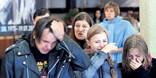 Смерть кумира стала настоящей трагедией для любителей панк-рока. Фото: Илья СМИРНОВ/«Комсомольская правда»