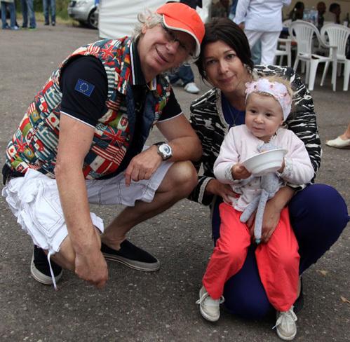 Аркадий УКУПНИК с семьёй