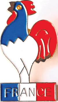 Символ Франции - галльский петушок