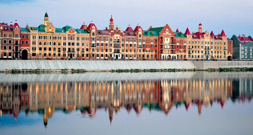 Облик столицы Марий Эл... Фото: komu-za-50.mirtesen.ru