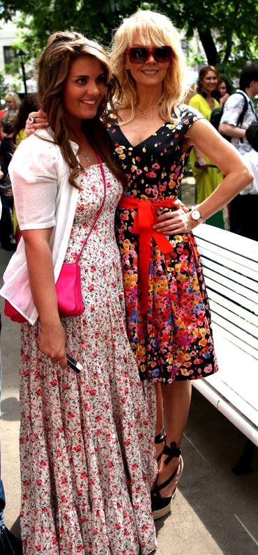 Валерия с дочкой Анной (фото Ларисы КУДРЯВЦЕВОЙ)