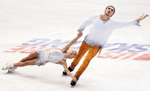Татьяна и Максим морально нокаутировали соперников. Фото: © Reuters