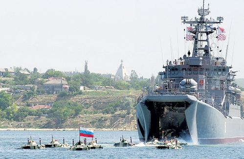 Черноморский флот - гордость и слава России. Фото из архива «Комсомольской правды»