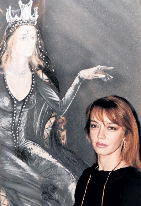 Портрет принцессы Мелисенты, который рисовал в фильме «31 июня» художник Сэм Пэнти (Николай ЕРЕМЕНКО), впоследствии был утерян