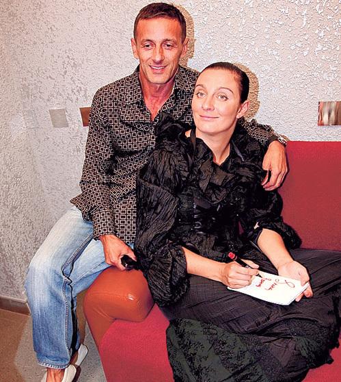 С Иваном МАТВИЕНКО певица прожила 17 непростых, но счастливых лет. Фото Ларисы КУДРЯВЦЕВОЙ