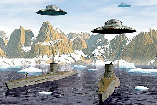 НЛО никого не пускают на Белый материк