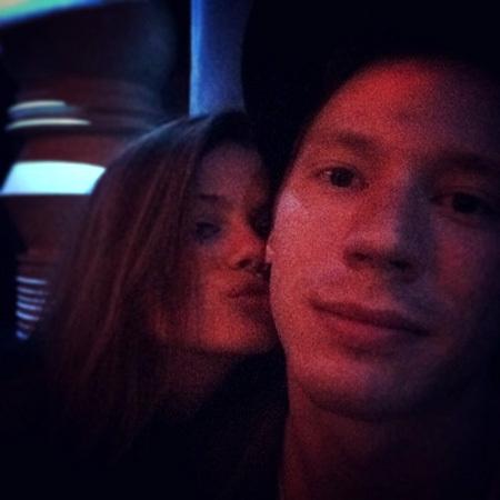 Никита ПРЕСНЯКОВ со своей новой девушкой Алёной КРАСНОВОЙ. Фото: Instagram