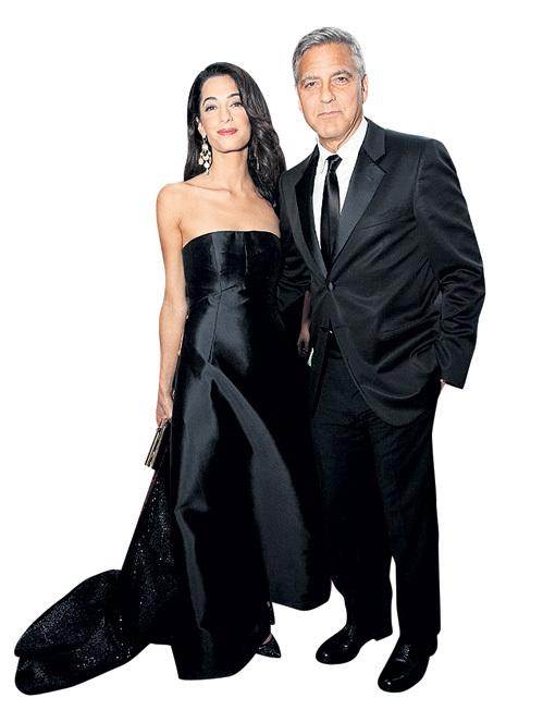 Джордж и Амаль решили сыграть свадьбу...