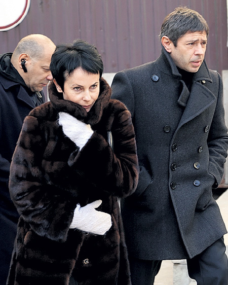С Ириной АПЕКСИМОВОЙ актёр прожил 12 лет