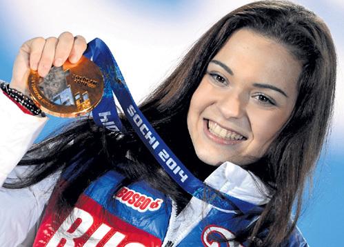Королева олимпийского льда Сочи тайн от поклонников не имеет