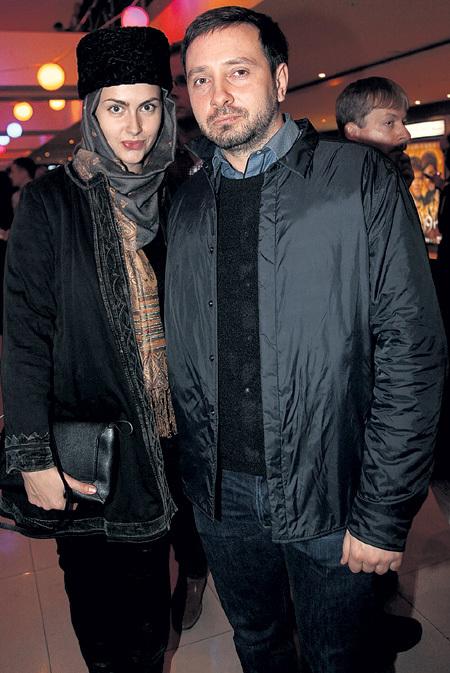 Даниил с женой Аней