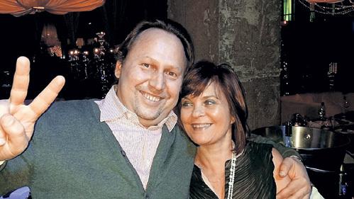 Нина с ресторатором Геннадием ЛЯДОВЫМ