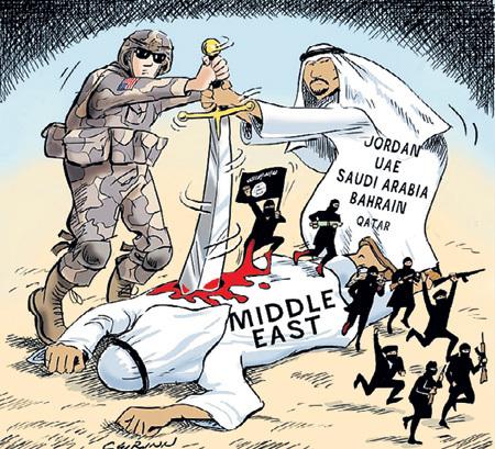 США и саудиты своими руками взрастили исламский терроризм