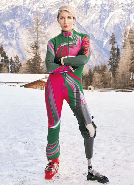 По одной из версий, Хизер МИЛЛЗ отказалась от участия в Параолимпийских играх из-за некомфортной формы