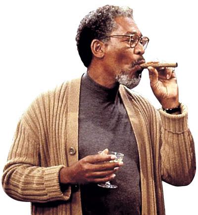 Морган не прочь выкурить не только сигару (в триллере «Цепная реакция»)