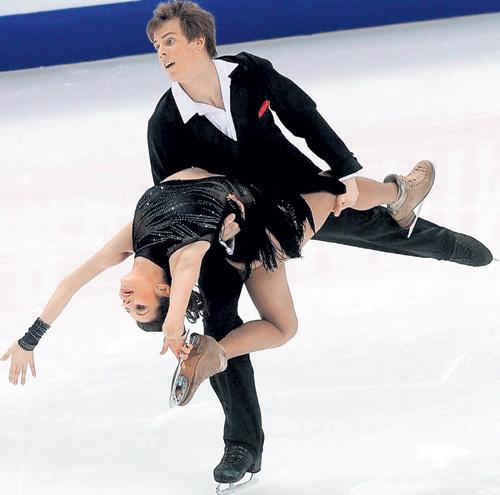 ИЛЬИНЫХ и КАЦАЛАПОВ были страстной парой не только на льду... Фото Константина ИВАНОВА/«Советский спорт»