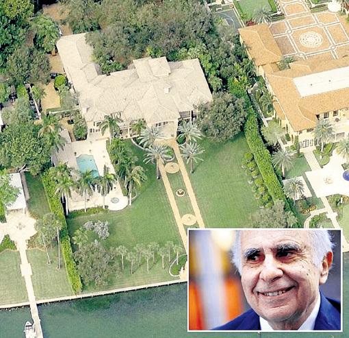 С 1997 года инвестор-миллиардер Карл АЙКАН живет на вилле площадью 1,3 тыс. кв. м