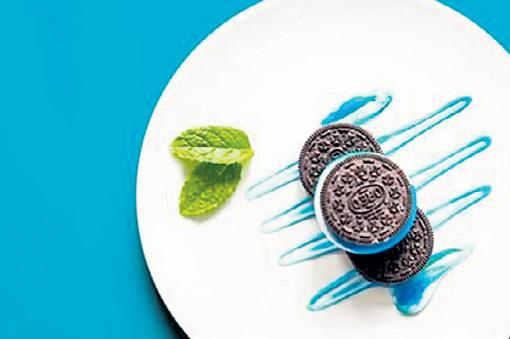 Шоколадное печенье с зубной пастой