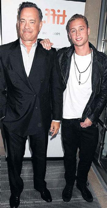 Том ХЭНКС с сыном