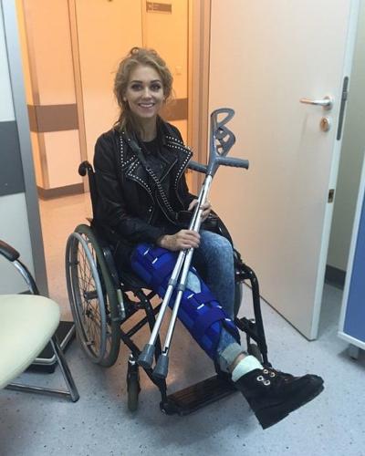Кристина АСМУС прямиком из больницы (фото Instagram.com)