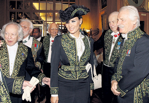 Принцесса Катара Шейха Моза бинт НАСЕР в масонской ложе Великобритании