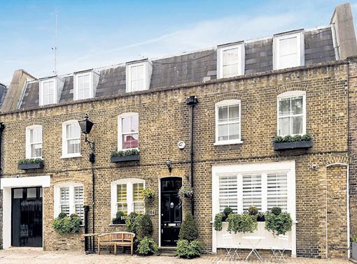 За дом в центре Лондона Майкл просит 5 миллионов фунтов стерлингов