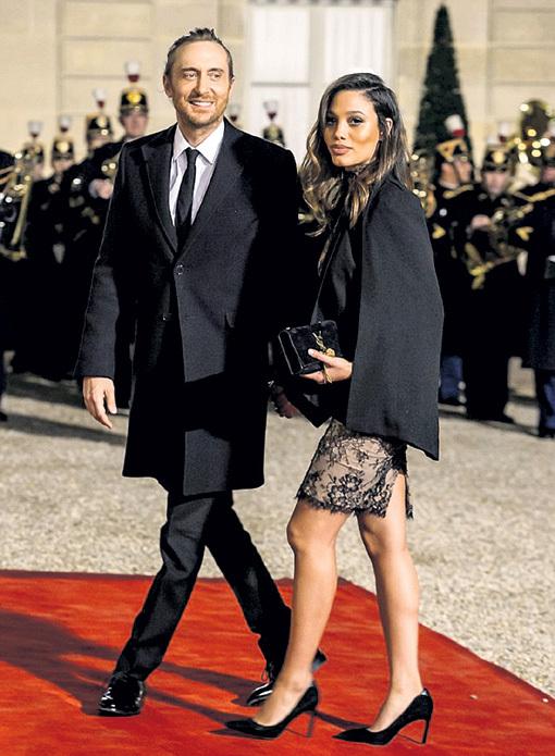 Дэвид и Джессика по праву были приглашены в Елисейский дворец
