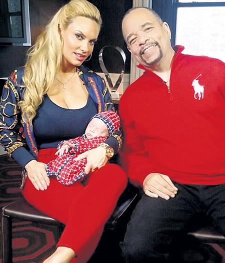 Для Ice-T с женой дочь стала поздним и поэтому особенно дорогим ребёнком