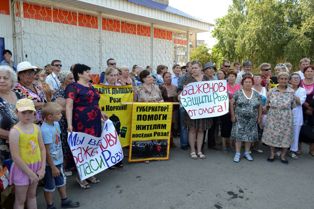 Розинцы и коркинцы приезжают в Челябинск на митинги, объявляют голодовки, пишут письма