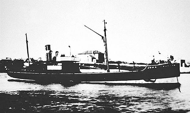 Пароход «Джон Графтон» вёз эсерам 16 тысяч канадских и датских винтовок, 3 тысячи револьверов, 3 миллиона патронов, а также 3 тонны взрывчатки. Но, к счастью, утонул