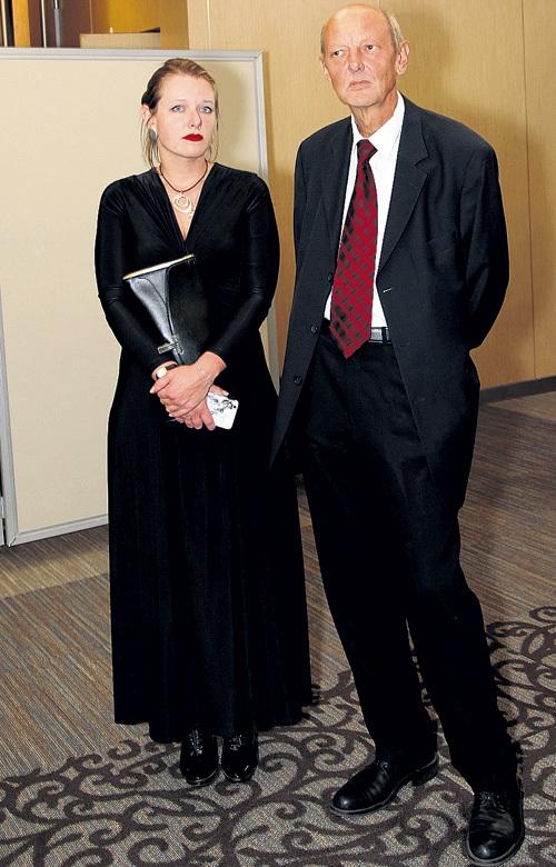 Ведущий легендарного «Взгляда» Дмитрий ЗАХАРОВ с дочкой Аней