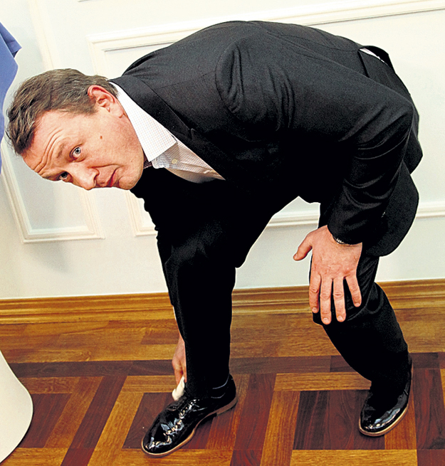 ...потом ботинки...