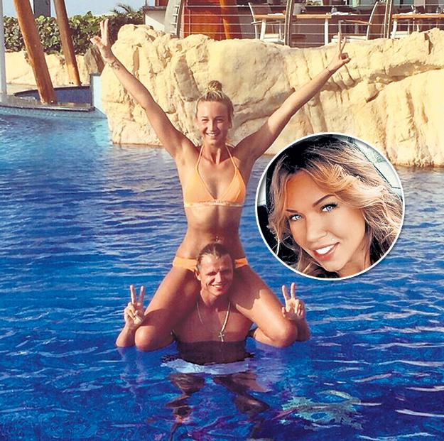 Бывшая супруга Дмитрия (в круге) считает, что за Олей есть должок. И не один. Фото: Instagram.com