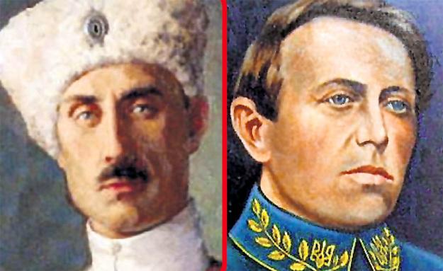 В рамках десоветизации мы прославляем ВРАНГЕЛЯ, а украинцы - ПЕТЛЮРУ