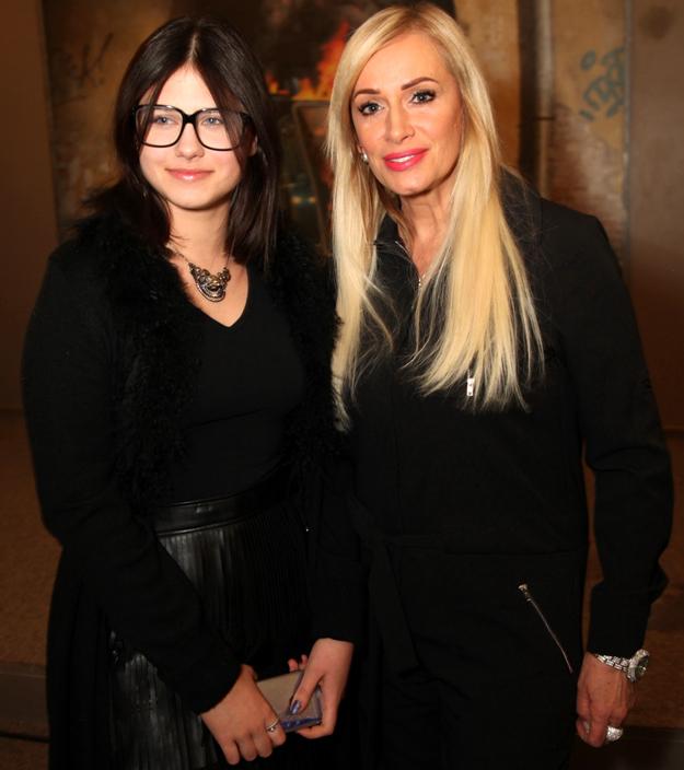 Наталья ГУЛЬКИНА с дочерью