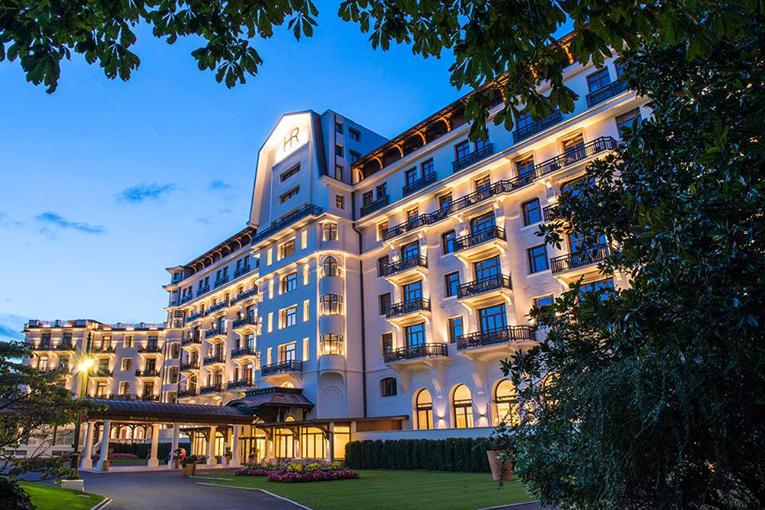 Hôtel Royal - Evian Resort, где чудесно провела время Наталья ЦЕПОВЯЗ