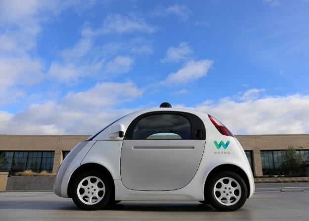 Waymo - беспилотный автомобиль компании Google. Фото: производитель