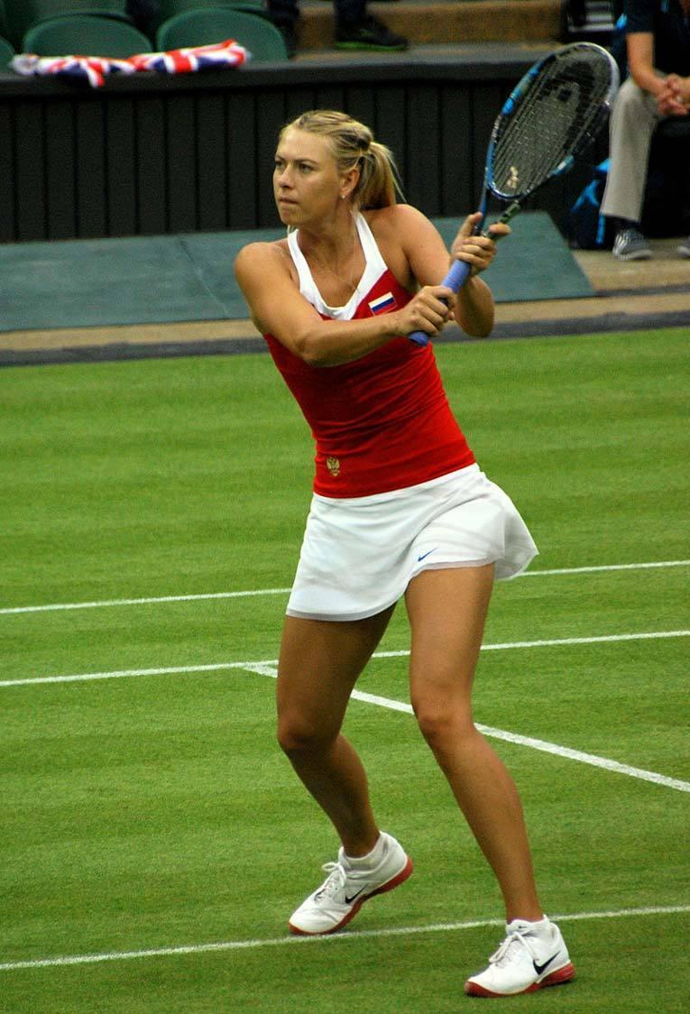 Шарапова на Олимпийских играх 2012 года. Фото: Википедия