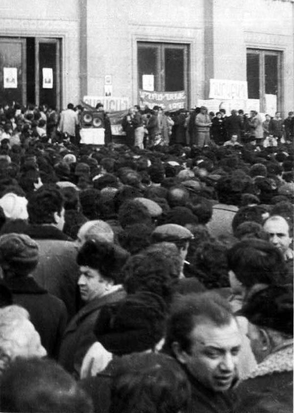 Митинг в Ереване, 1988 год. Источник: ru.wikipedia.org