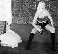 Модель для борделя Оксана (фото из архива ГУВД)