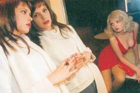 МИСТИЧЕСКИЕ ЖЕНЩИНЫ: Таня Захаржевская с подругой