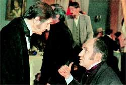 &#034ПЕТЕРБУРГСКИЕ ТАЙНЫ&#034: Баринов в роли Хлебонасущенского (справа)
