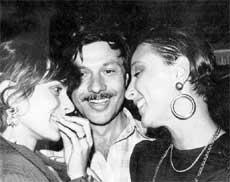 С НАСТАСЬЕЙ КИНСКИ (СЛЕВА): познакомился в 1987 году на Московском кинофестивале